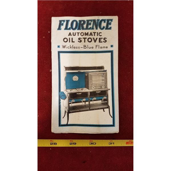 Early 1900 - 1920 McClary Stove Brochure (Florence)