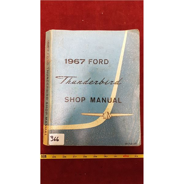 1967 Ford Thunderbird Manual