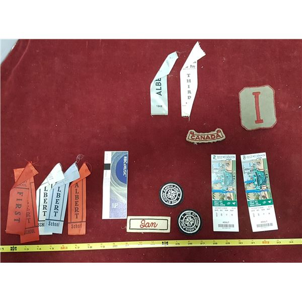 Mix Lot Collection - Ribbons & Tickets