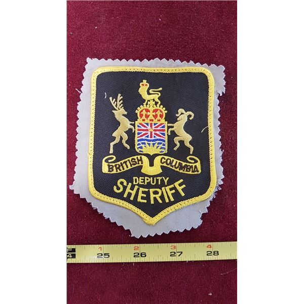 B.C. Deputy Sheriff Patch