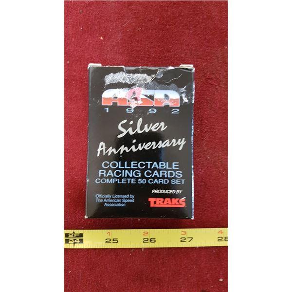 1992 Traks Race Boxed Set Racing Cards
