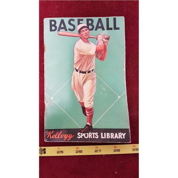 1934 Kellogs Baseball Booklet
