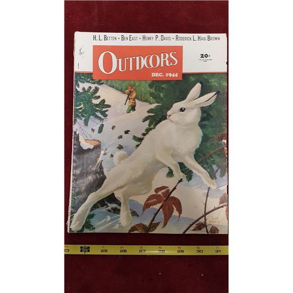 1944 Outdoors Hunting Magazine
