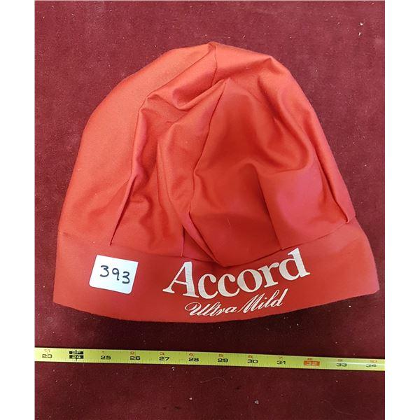 Vintage Accord Ultra Mild Chefs Hat