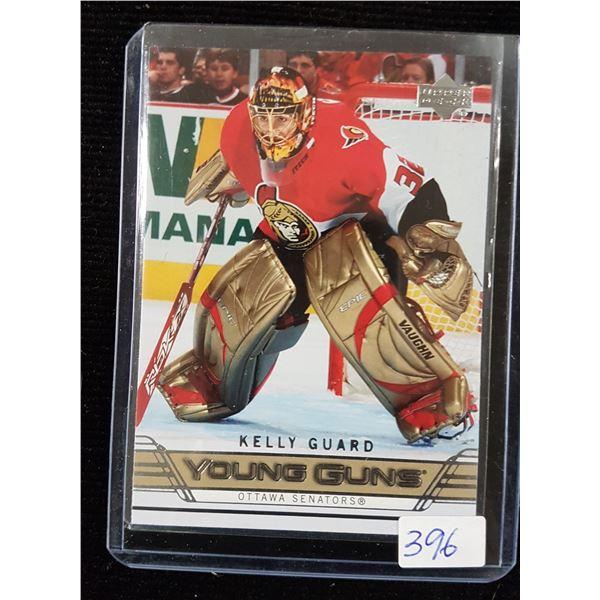 Kelly Guard Hockey Card