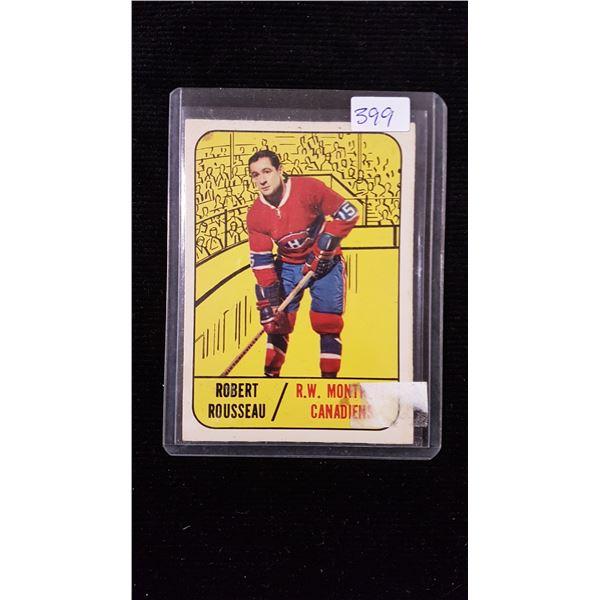 Robert Rousseau Hockey Card
