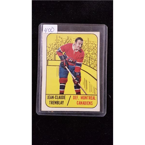 Jean - Claude Tremblay Hockey Card
