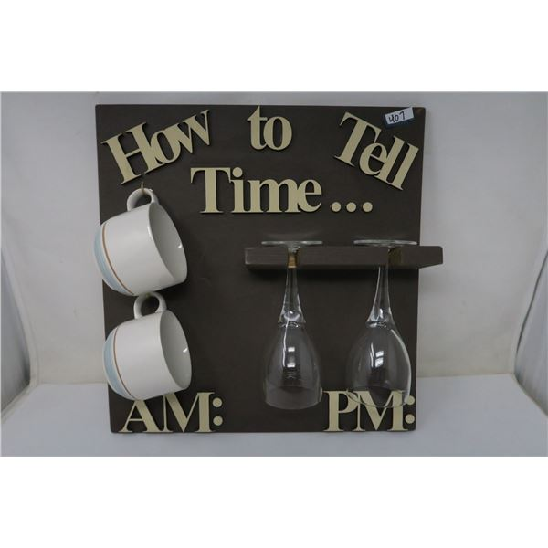"""HOW TO TELL TIME 15X15"""""""
