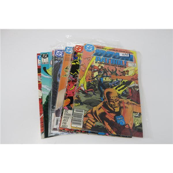 10 ASSORTED DC COMICS