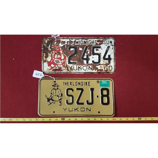 Yukon 1960 & 1989 Plates