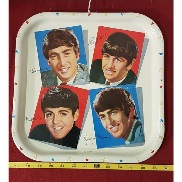 1964 Worchester Beetles Serving Tray