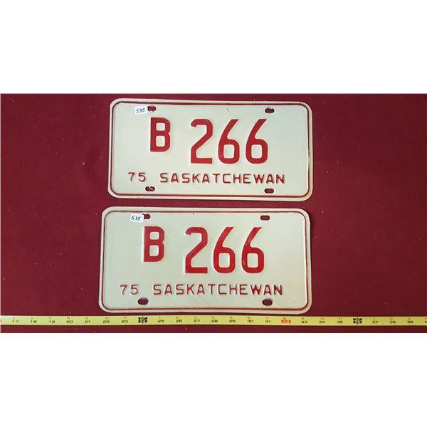 1975 B266 Pair