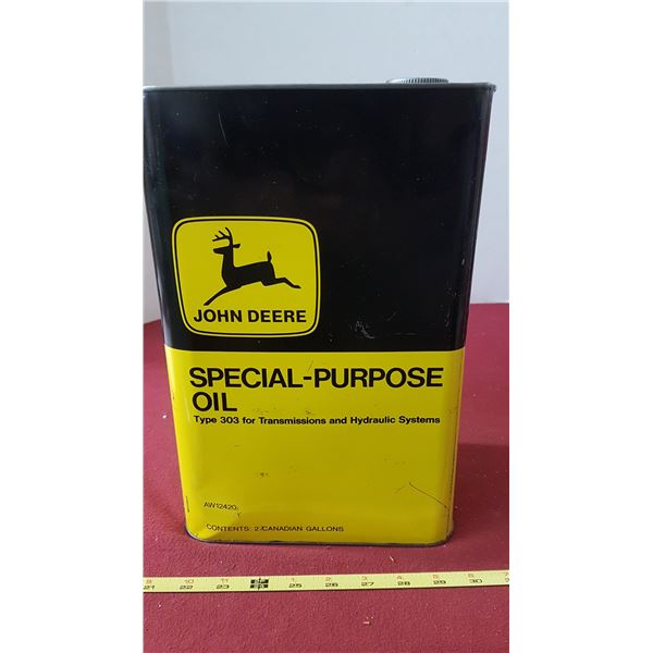 John Deere Special-Purpose Oil - 2 CAD Gallons