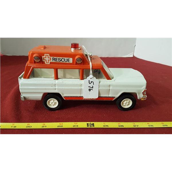 Rare 1970's Tonka Rescue Jeep
