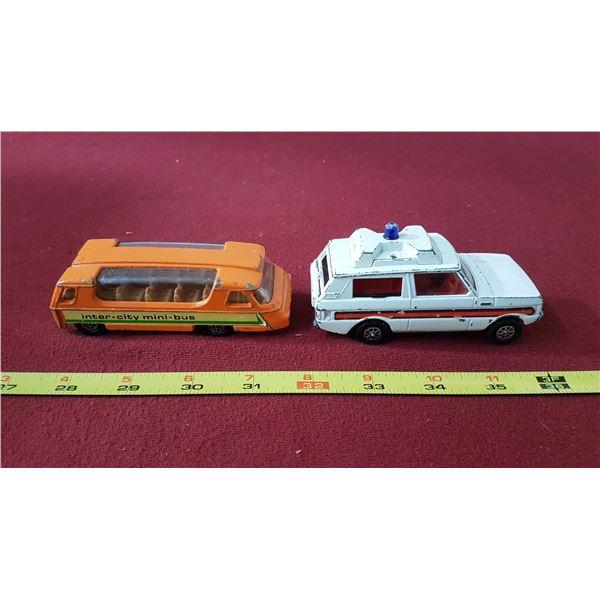 Corsi Mini Bus & Range Rover Toys