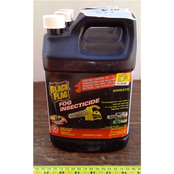 3 Jugs Black Fogging Chemical - ALL UNOPENED NEW