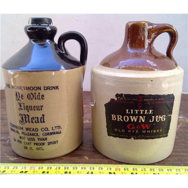 2 Little Brown Jugs