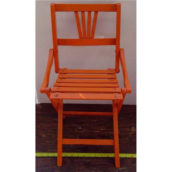 Little Orange Chair