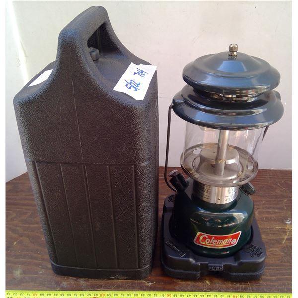 1 Gas Lantern & Plastic Carry Case - 2 Mantle