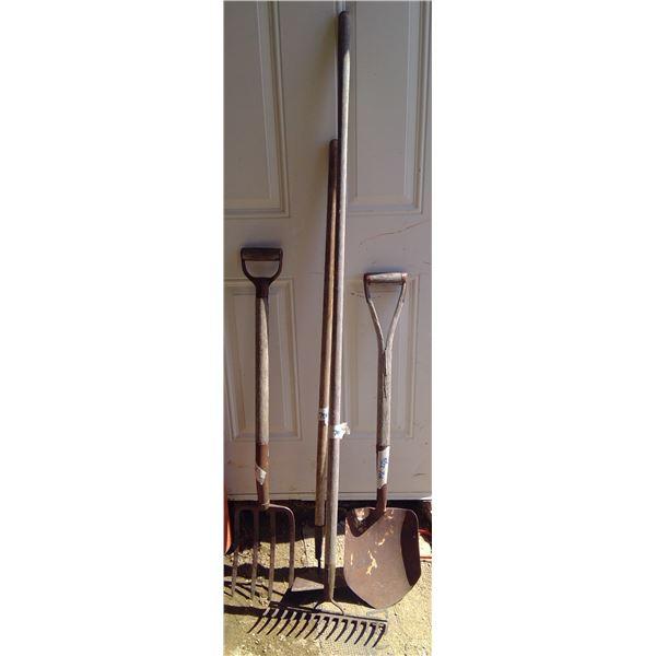 Rake/Fork/Shovel/Hoe