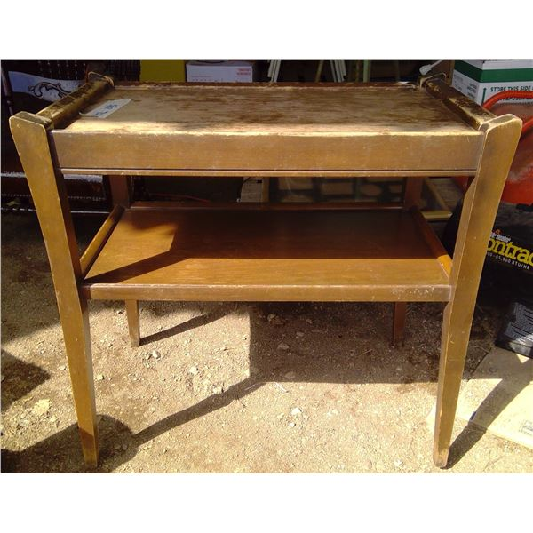 Old Small Wooden Table