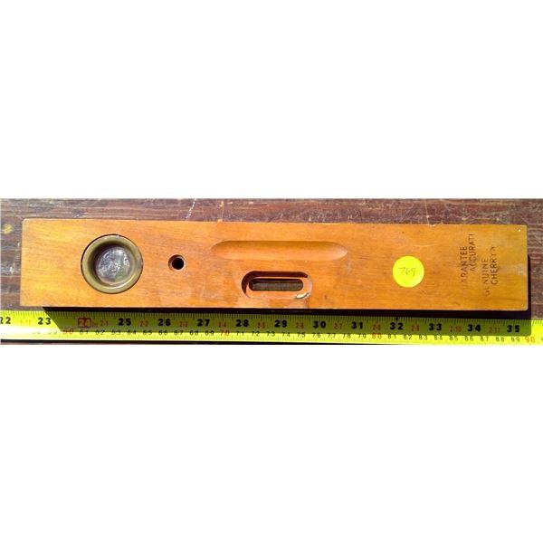 Wood Level