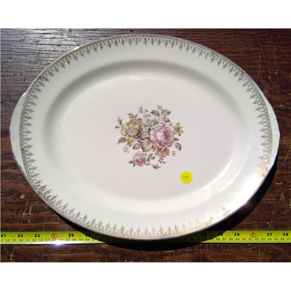 """1 - 16"""" Oval Platter - Nautilus Made in USA G51N8"""