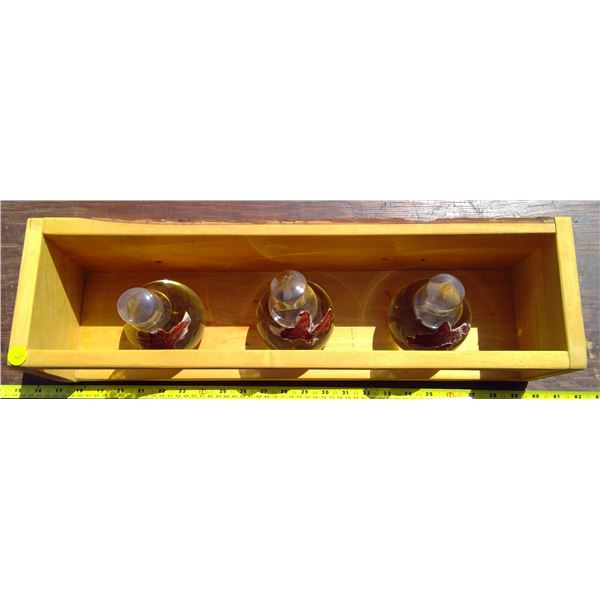 3 Fire Chief Fire Extinguisher Balls with Stand