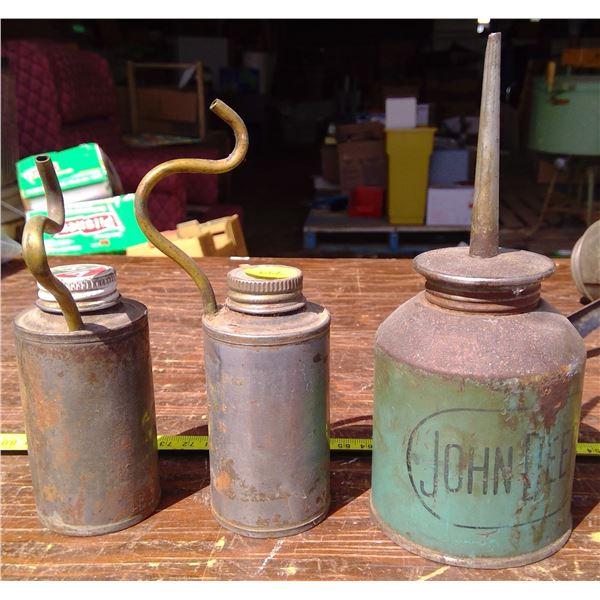 3 Oil Cans (1 BA)