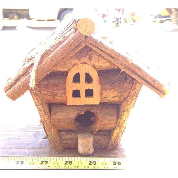 Log Bird House
