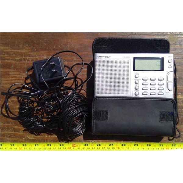 Grundig Radio and Cords