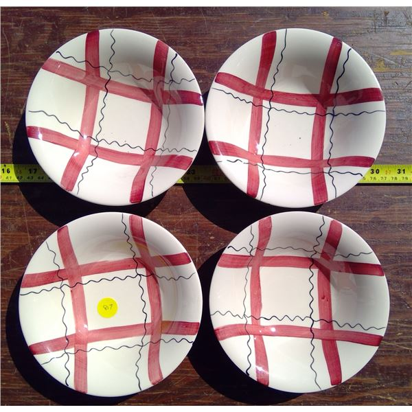 """4 - 6"""" Bowls made in England"""