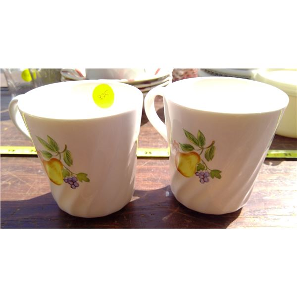 2 Corelle Coffee Cups