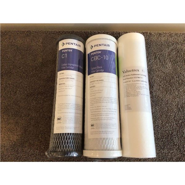 Set of Ultrasafe Reverse Osmosis Purifier filters