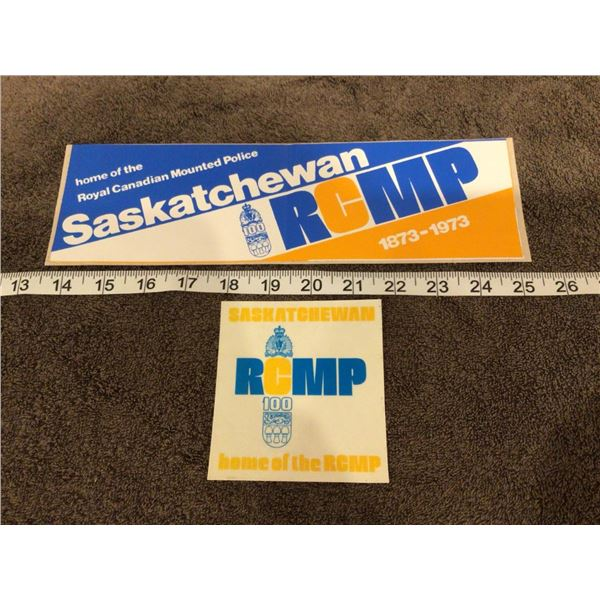 RCMP 100 years stickers - 1 photo