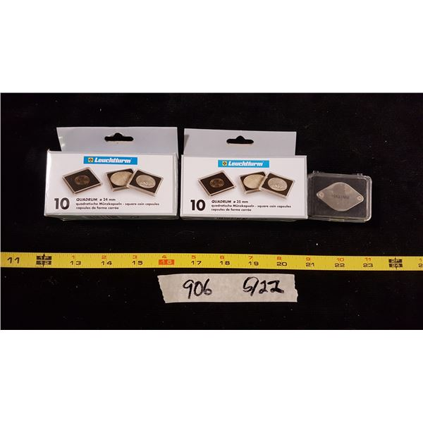 Coin Capsuls & Magnifier