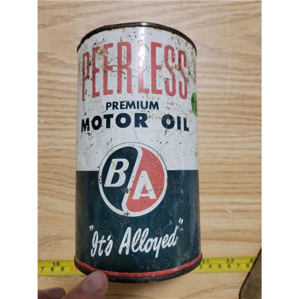 B/A  quart oil can (empty)