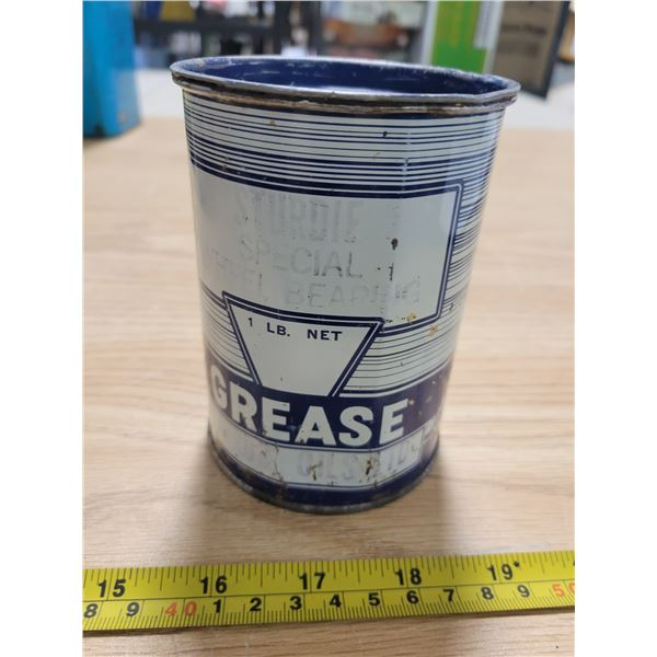 Full stundie oil 1 pound grease can