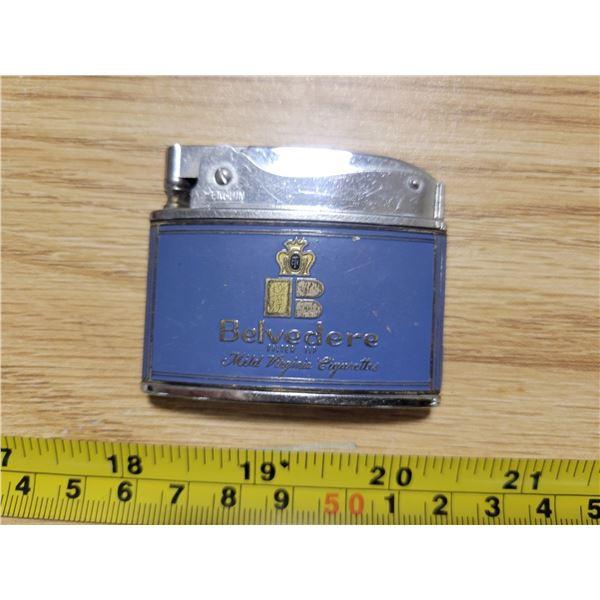 Belvedere cigarettes lighter (Japan)