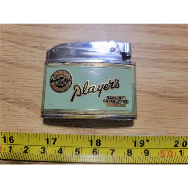 Players tobacco lighter (Japan)