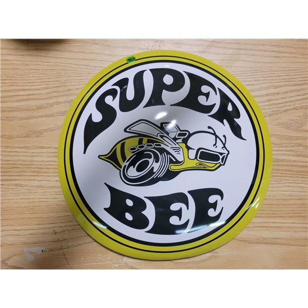 """Dodge Super Bee domed 15"""" sign"""