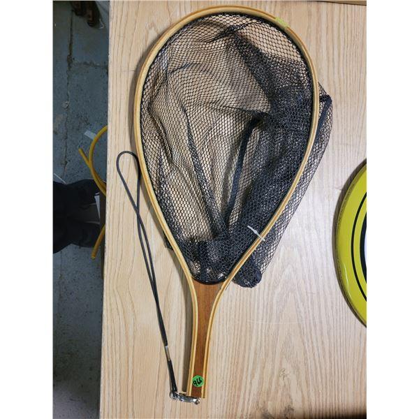 wood fish net