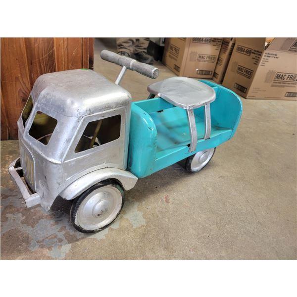Vintage toyland ride on truck toy