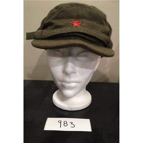 USSR Wool Hat, Size Large