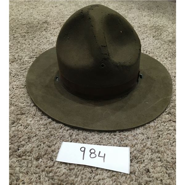 Drill seargent hat