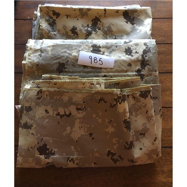 Digital camo fabric (59x61, 59x 51, 59x44 inches)