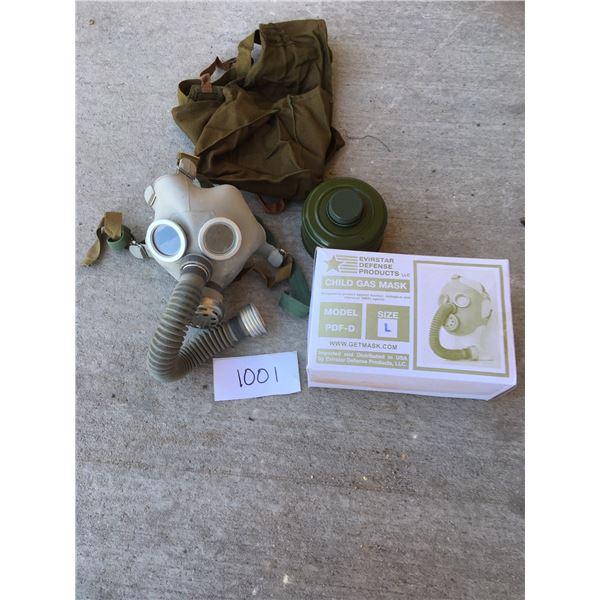 New Russian child gas mask