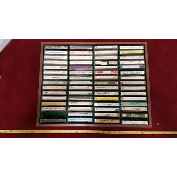 Lot Cassettes & Case