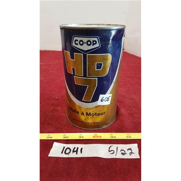 Coop HD7 Oil (Tin Full)