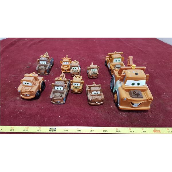 """10 """"Cars"""" Tow Matters Toys"""